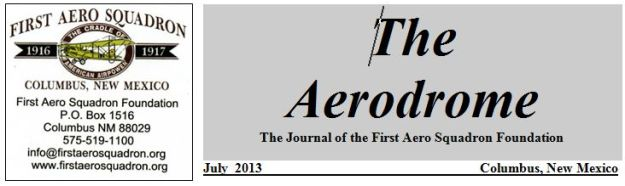 Aerodrome Masthead with Info Block for July 2013 - 001