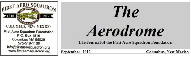 Aerodrome September 2013 No. 2