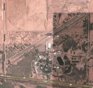 Cochise College Airport AZ Google Map Satellite Photo - 001