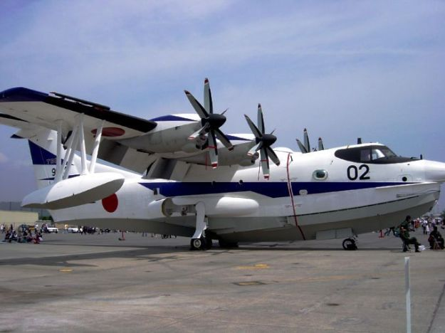 Japanese Fire Fighting - Emergency Amphibian, the US-2