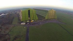 Airship Hangars in GB - 2014