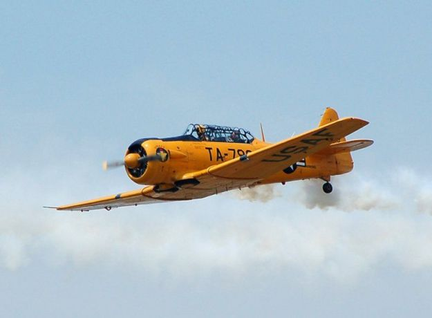 T-6G in Flight