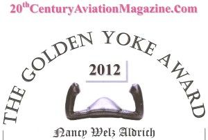 Golden Yoke Award Nancy Aldrich 2012