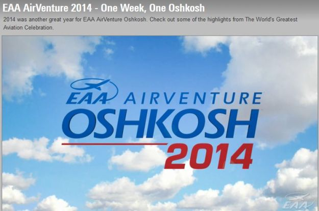 AirVenture EAA Ad for 2014 001