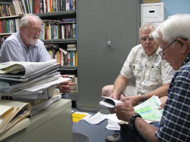 LtoR-Dr. Bouilly, Fritz Wagoner & Bill Madden-080114