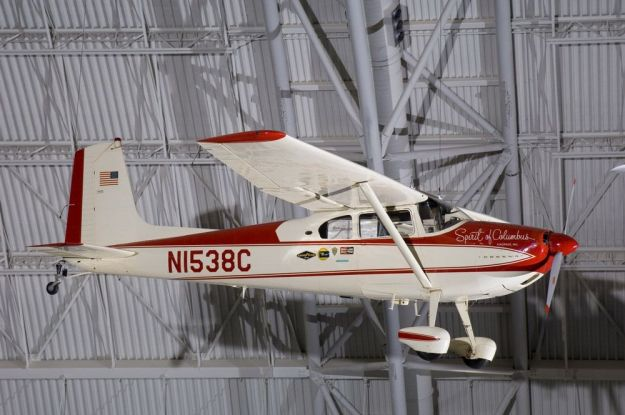 Cessna N1538C Hangs in Museum - 015