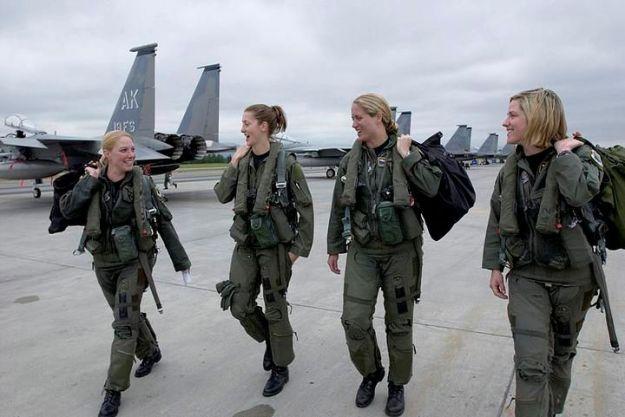 USAF F-15 Jet Pilots Alaska - 0-13