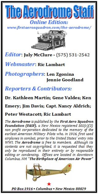 AERODROME MASTHEAD NEW WINTER 2013 W JULY MCCLURE