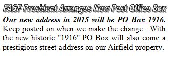 Headline - NEW POST OFFICE BOX 1916