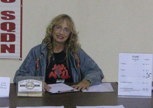 July McClure at FASF Table 2014 - Cropped for Headlight Story
