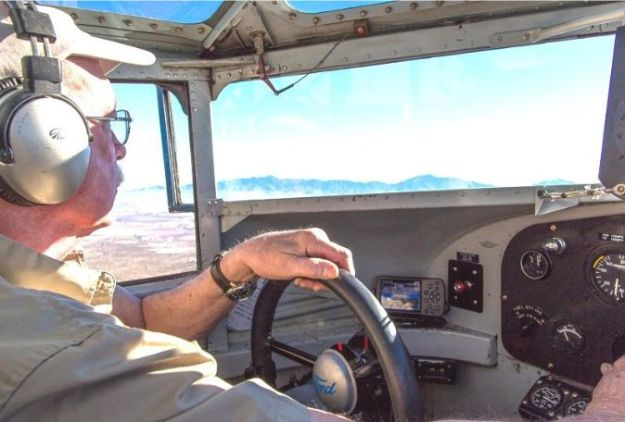Capt. Ed Rusch at Tri-Motor Controls 002