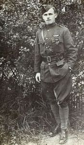 Lt. Arthur Coyle in France 1917 - 001