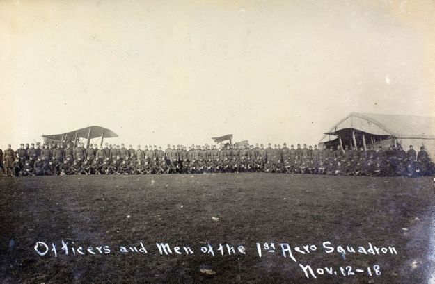 Officers & Men of the FAS - November 12, 1918-003