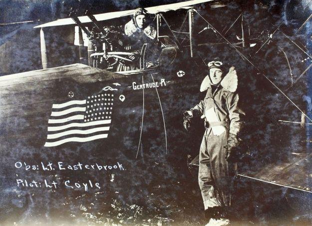 Pilot Lt. Coyle with Observer-Gunner Lt. Easterbrook(Large)-002