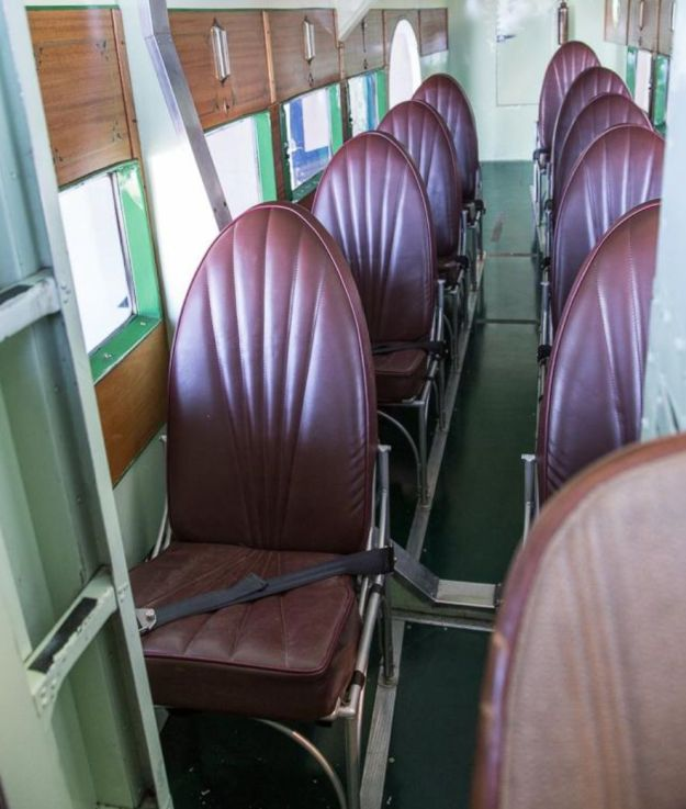 Tri-Motor's Empty Seats after day's work 008