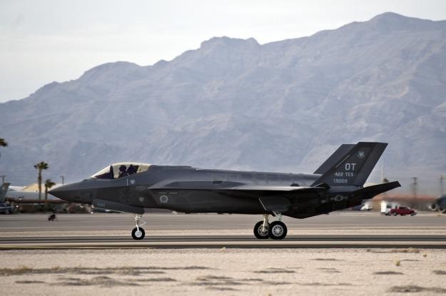F-35 Lightning II Arrival