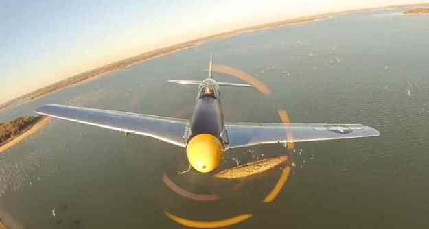 P-51 Mustang Brat III Head On in Flight 002
