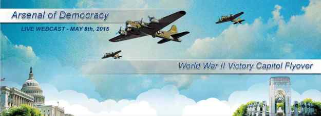 Home Page of Arsenal of Democracy - Hosted Flyover of WWII Warbirds