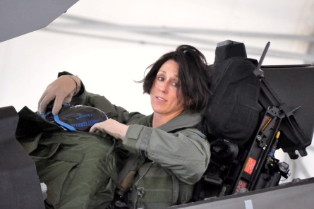 LTCOL Mau after flight in F-35A 004