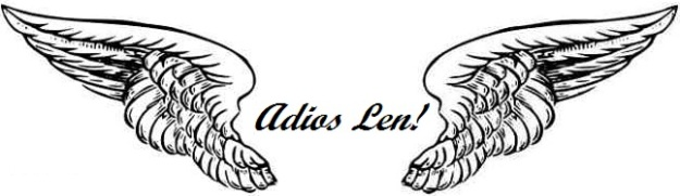 Adios Len! in Angel Wings