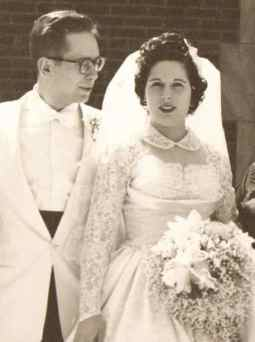 Bride & Groom 1954