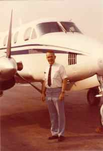Len By King  Air as Corp. Pilot