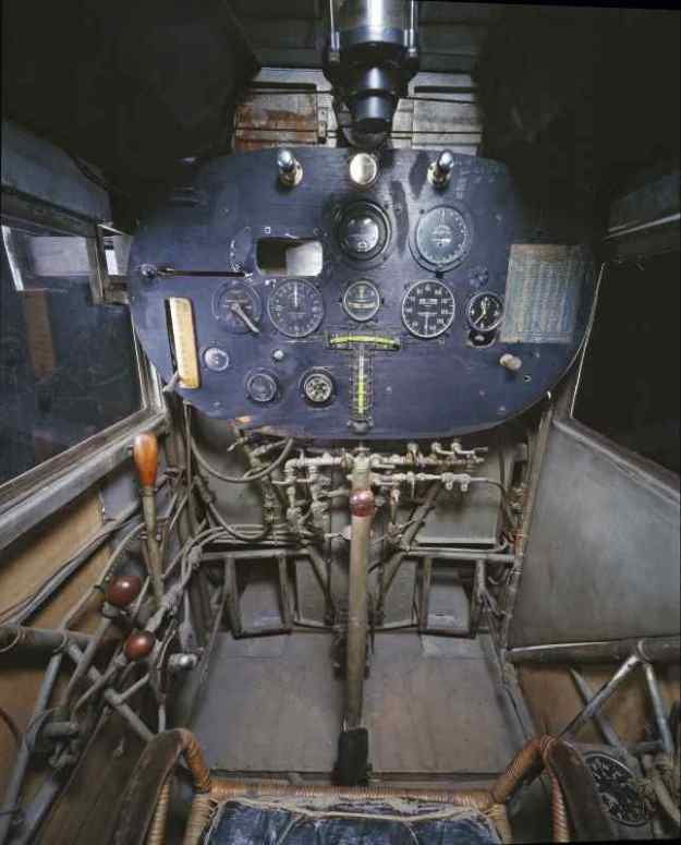 1927 - Charles A. Lindbergh's Spirit of St. Louis Cockpit