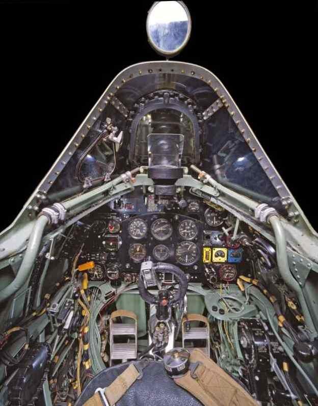 1939 - 1945 - British Supermarine Spitfire Fighter which helped win the Battle of Britain