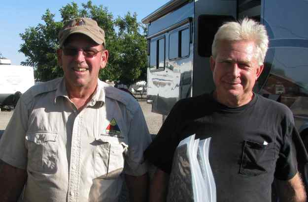~L to R - John Gillich of Reno Nevada and Ken Field of Ocala, FL.  Two Convoy Leaders
