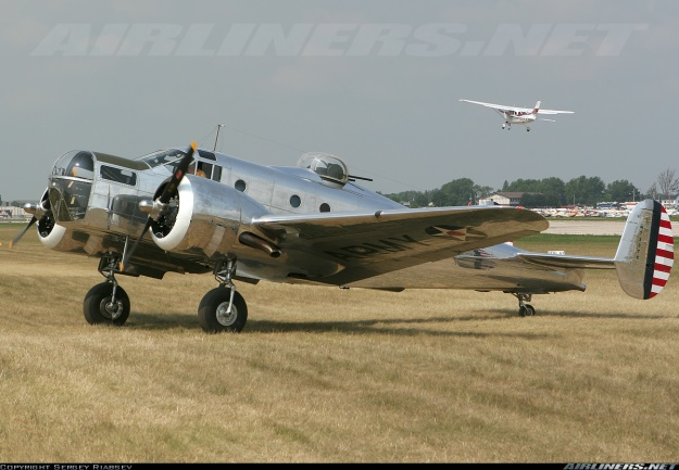 Beech AT-11 Kansan fully restored-Airliners.net credit