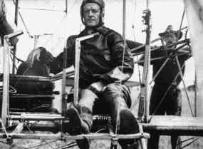 Lt. Foulois in Wright Military Flyer Ft. Sam Houston, TX