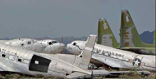 This photograph shows the Navy's version of the endomitable Douglas DC-3 Airliner, which the Navy called the R4D.