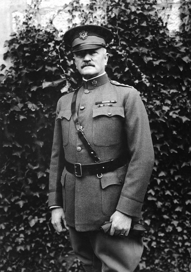 General Pershing in France After Leaving Columbus