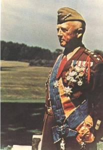 General Patton with Foreign Medals along with those from the U.S.