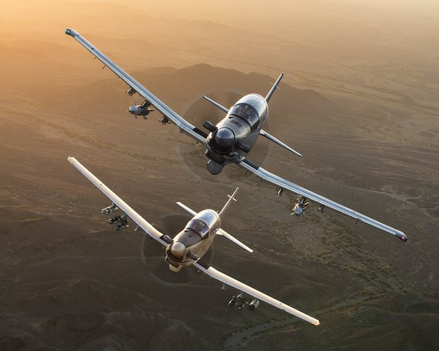 Beechcraft Promo for T6 Combat Versions with Major General Craig Franklin, USAF Retired