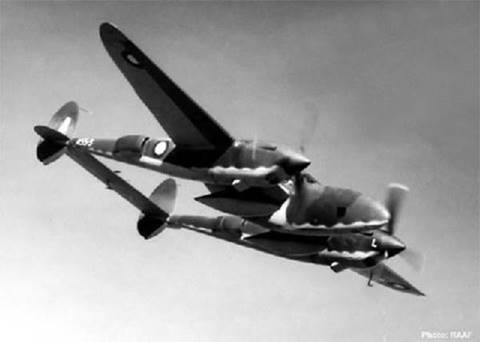 12) The first active service P-38s were used as reconnaissance aircraft in April 1942 by the RAAF (Australia) 8th Photographic Squadron.