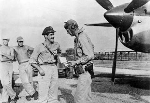 15) Charles Lindbergh was a key figure in improving the performance of the P-38. Working as a civilian contractor in the South Pacific, he developed throttle settings and engine leaning techniques that significantly increased the range of the aircraft.