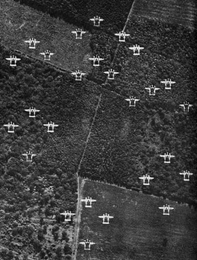 16) The P-38 flew over 130,000 sorties in the European theater, and downed over 1,800 Japanese aircraft in the Pacific theater.