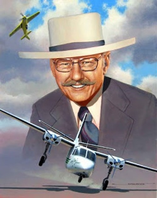 The Legendary Bob Hoover in his Air Show flying uniform