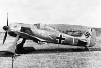 German WWII Fighter, the Focke Wulf 190 stolen by escaped prisoner Bob Hoover