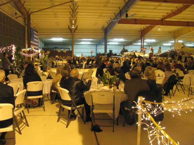 View of part of the crowd of Scholarship Fund Supporters in the WEAM