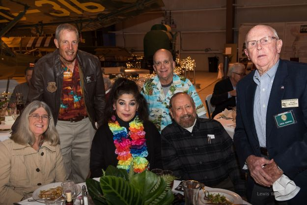L to R above: Melissa and Alan Fisher; Alma Villezcas; Roger Nichols; Ric Lambart; Virg Hemphill.