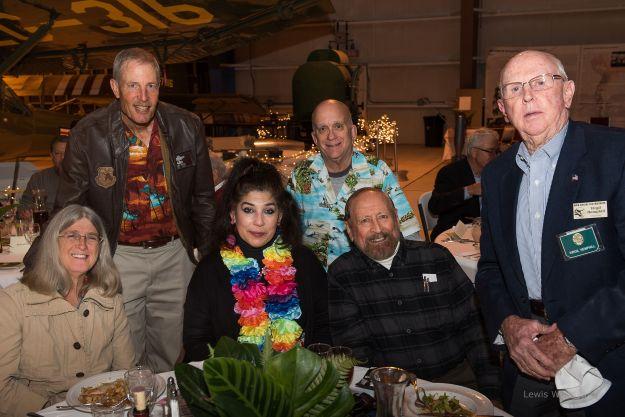 L to R above: Melissa and Alan Fisher; Alma Villezcas; Roger Nichols; Ric Lambart; Virg Hemphill.
