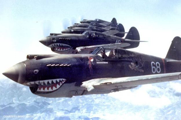 Curtiss P-40 Warhawk: One of WW II's Most Famous Fighters - Photo courtesy of Brad Smith