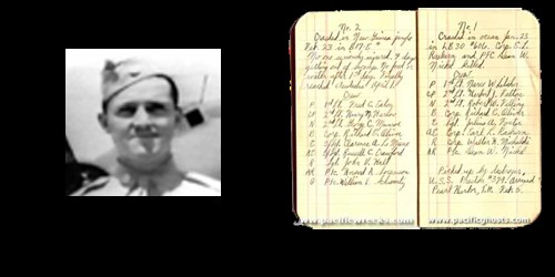 "Captain Frederick ""Fred"" C. Eaton, Jr. Swamp Ghost Flight Log"