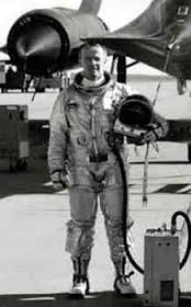 P.J Halloran in Space Suit by SR-71